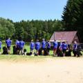 Vodní práce Zahradiště 16.6.2012 - 2.část